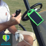 ChargeDefense Hello Sunshine Solar Charger for Golfers