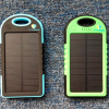 ChargeDefense Hello Sunshine Solar Charger in Blue and Green