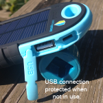 ChargeDefense Hello Sunshine Durable, Resistant Solar Charger